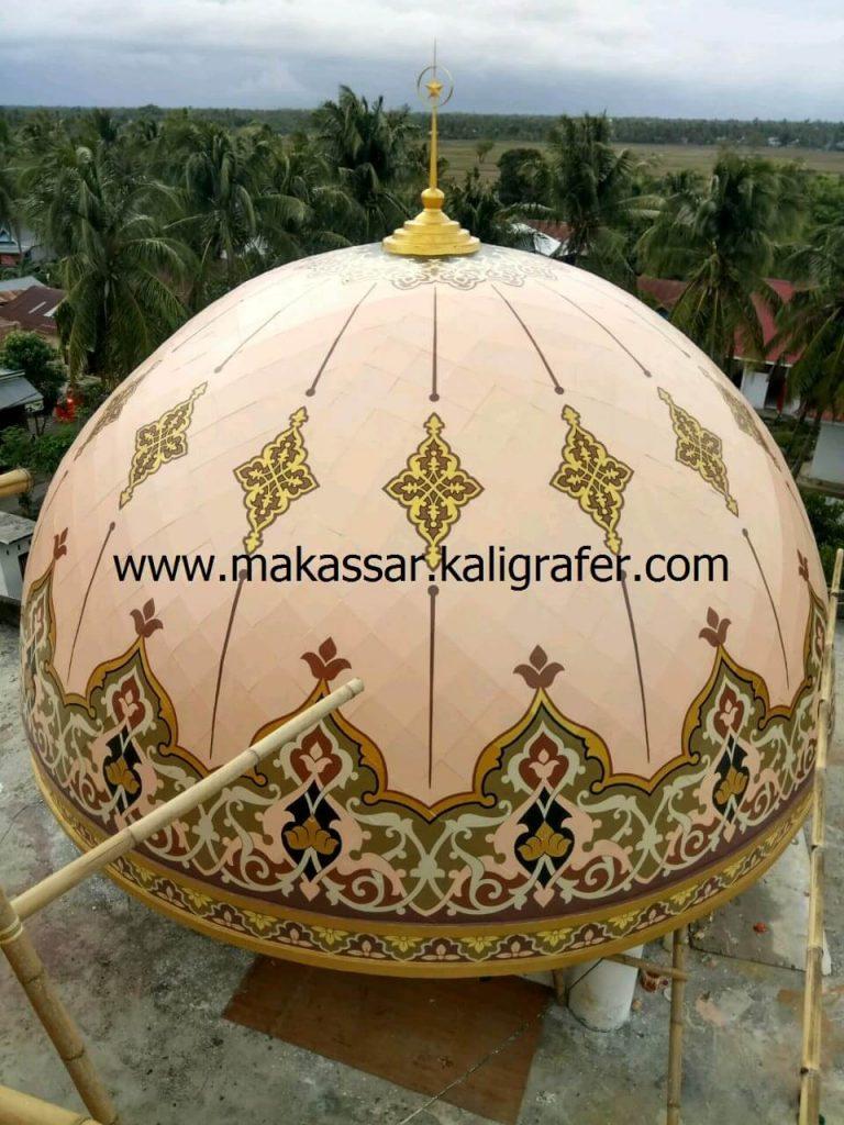 1 ornamen kubah masjid