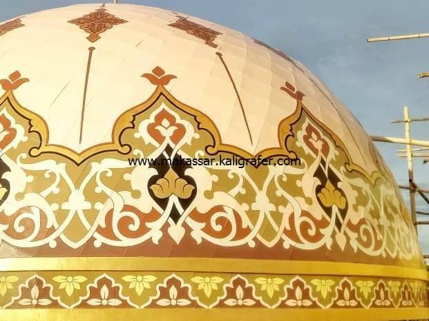 10 harga kaligrafi kubah masjid