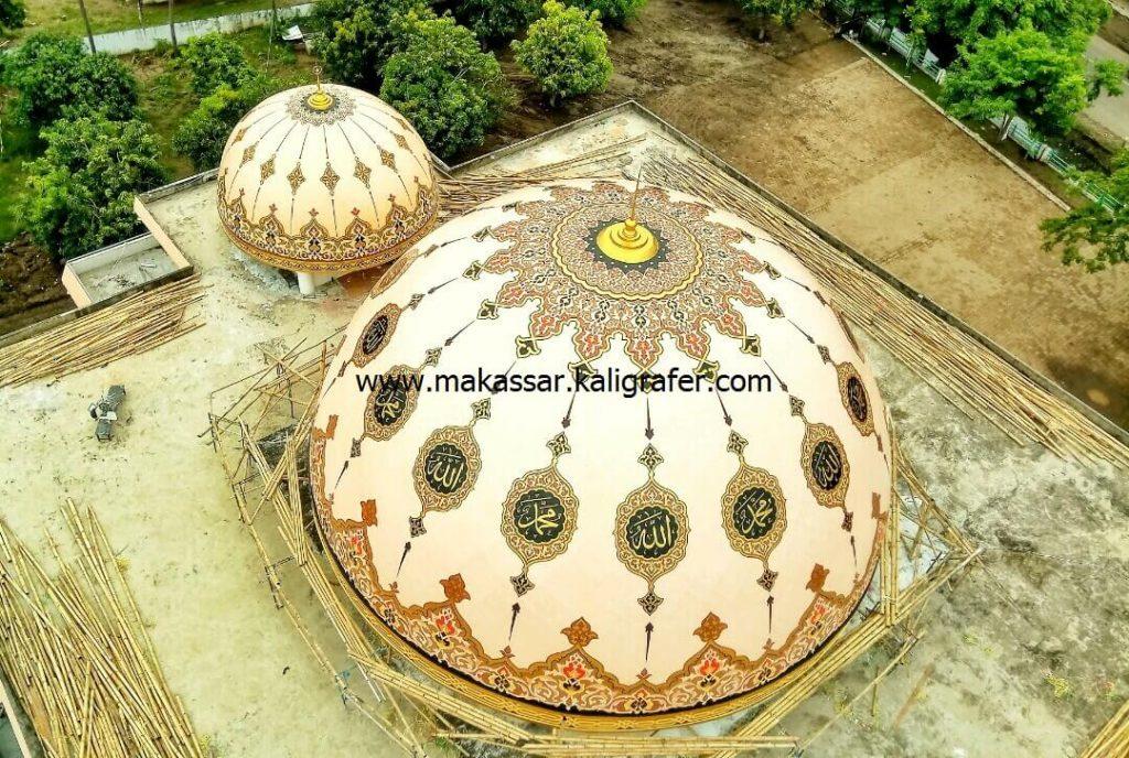 11 gambar kaligrafi kubah masjid