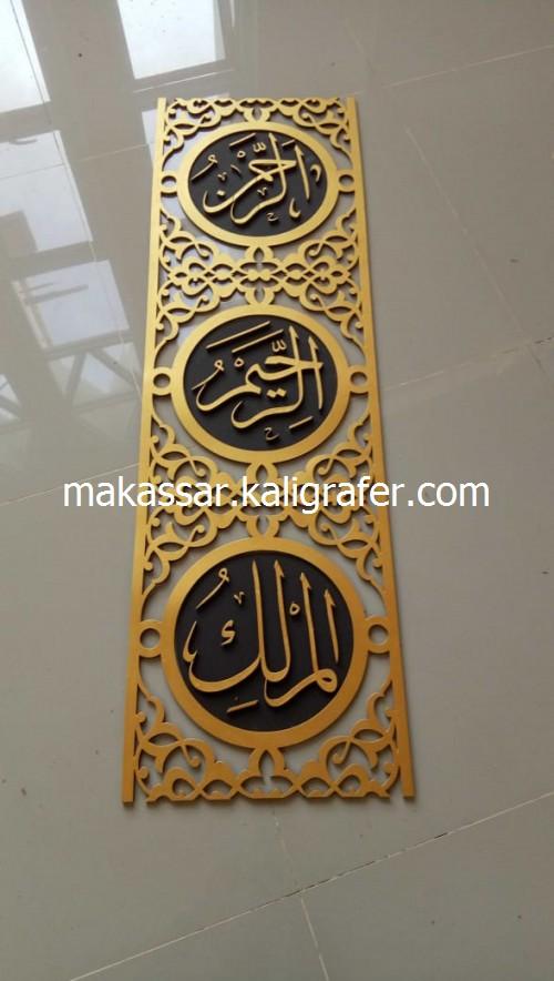 Ornamen Mihrab Masjid MDF Timbul7