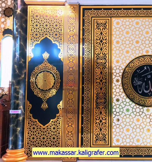 6 Detail Kaligrafi ACP untuk dinding masjid (3)